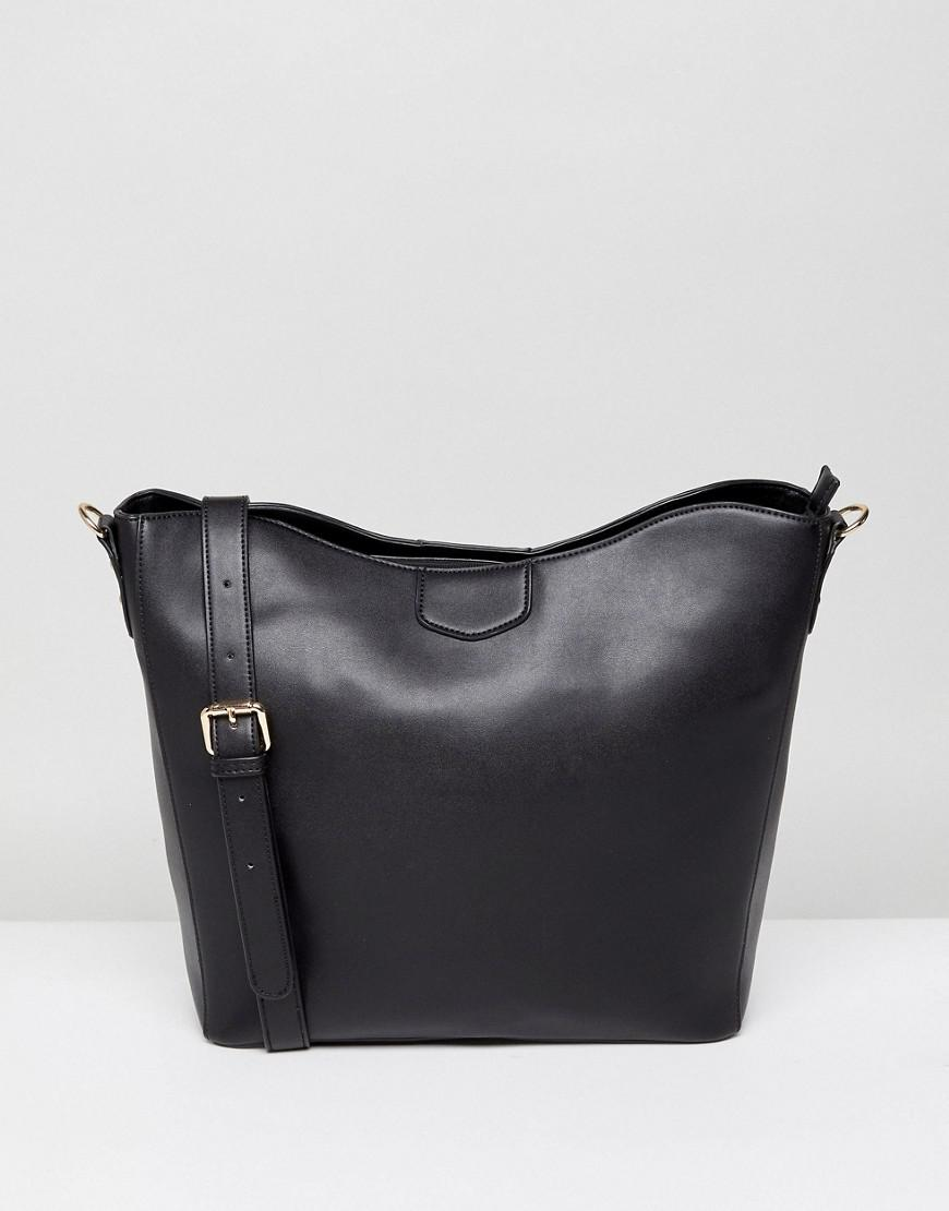 Park Lane Slouchy Shoulder Bag in Black - Lyst e087198783ce5