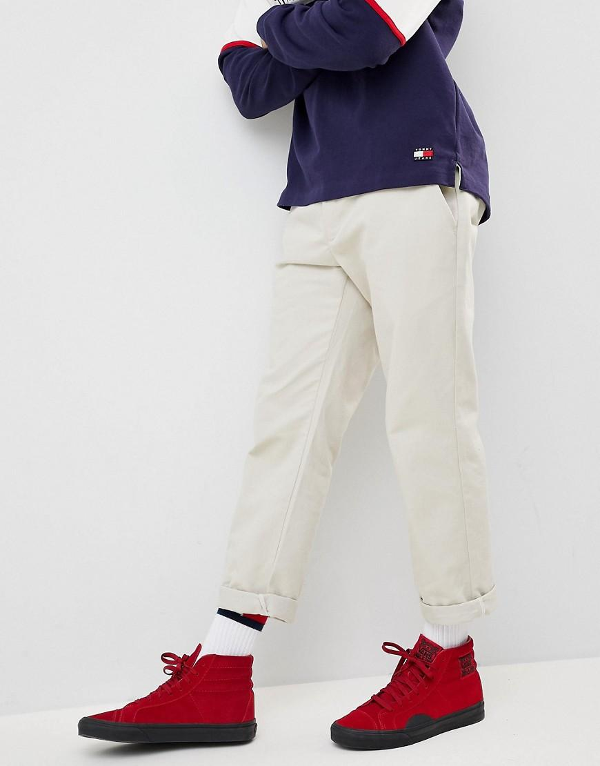 7d90e0471 Lyst - Tommy Hilfiger 90s Sailing Capsule Cropped Tapered Chinos In ...