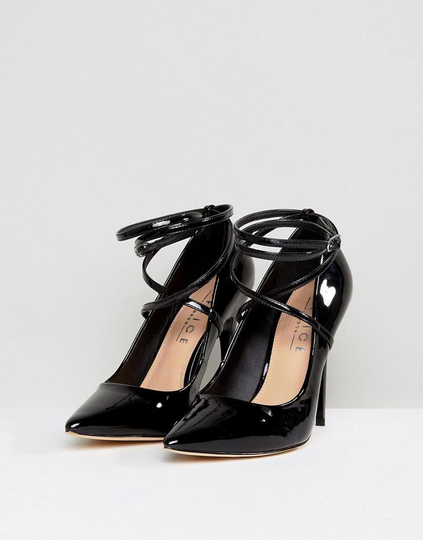 cc7110628a9 Lyst - Office Hilda Patent Pointed Court Shoes in Black