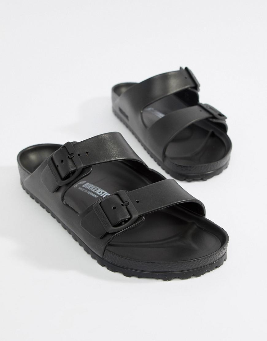 44843e985ab614 Birkenstock Arizona Eva Sandals In Black in Black for Men - Lyst