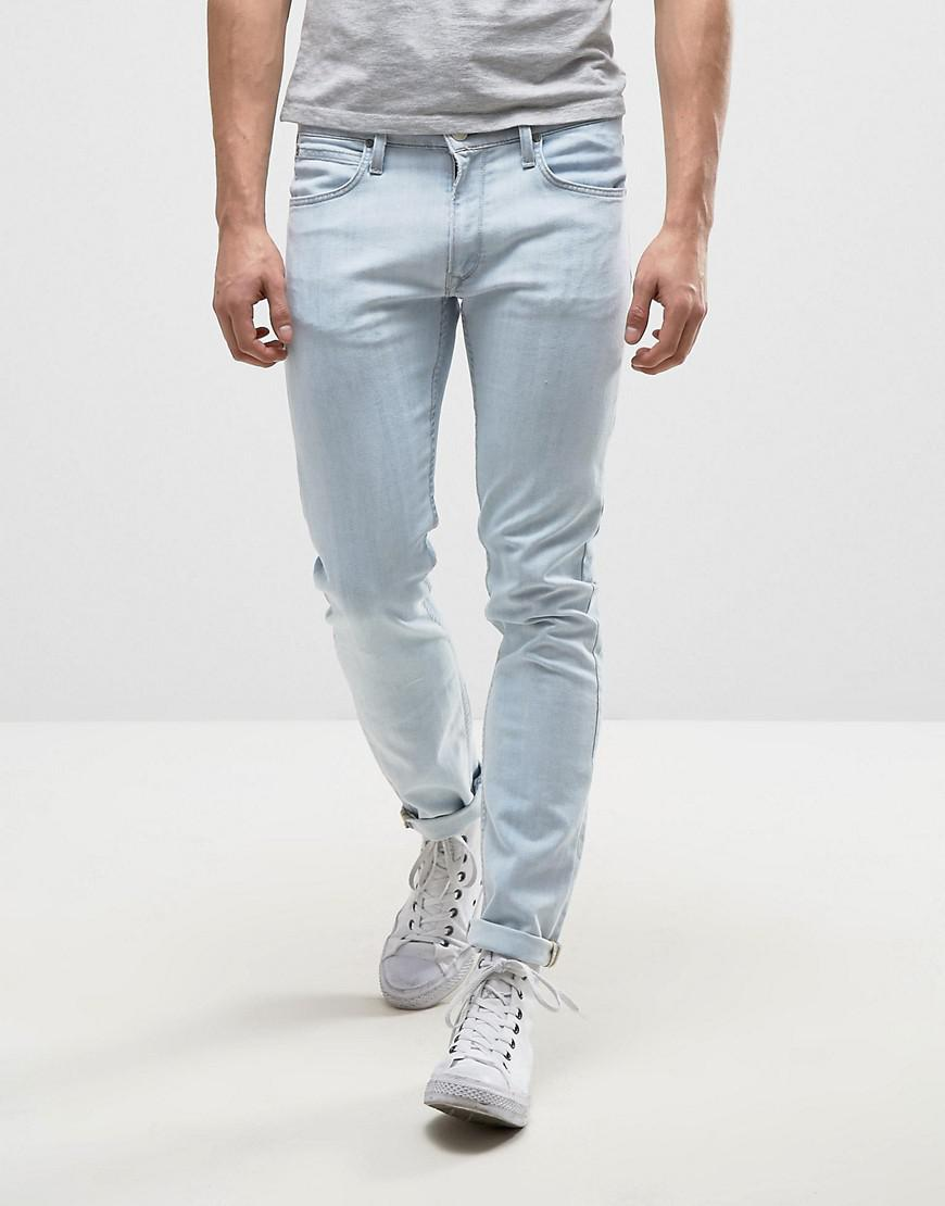 950158f5 Lee Jeans Luke Skinny Jeans Breezy Blue Wash in Blue for Men - Lyst