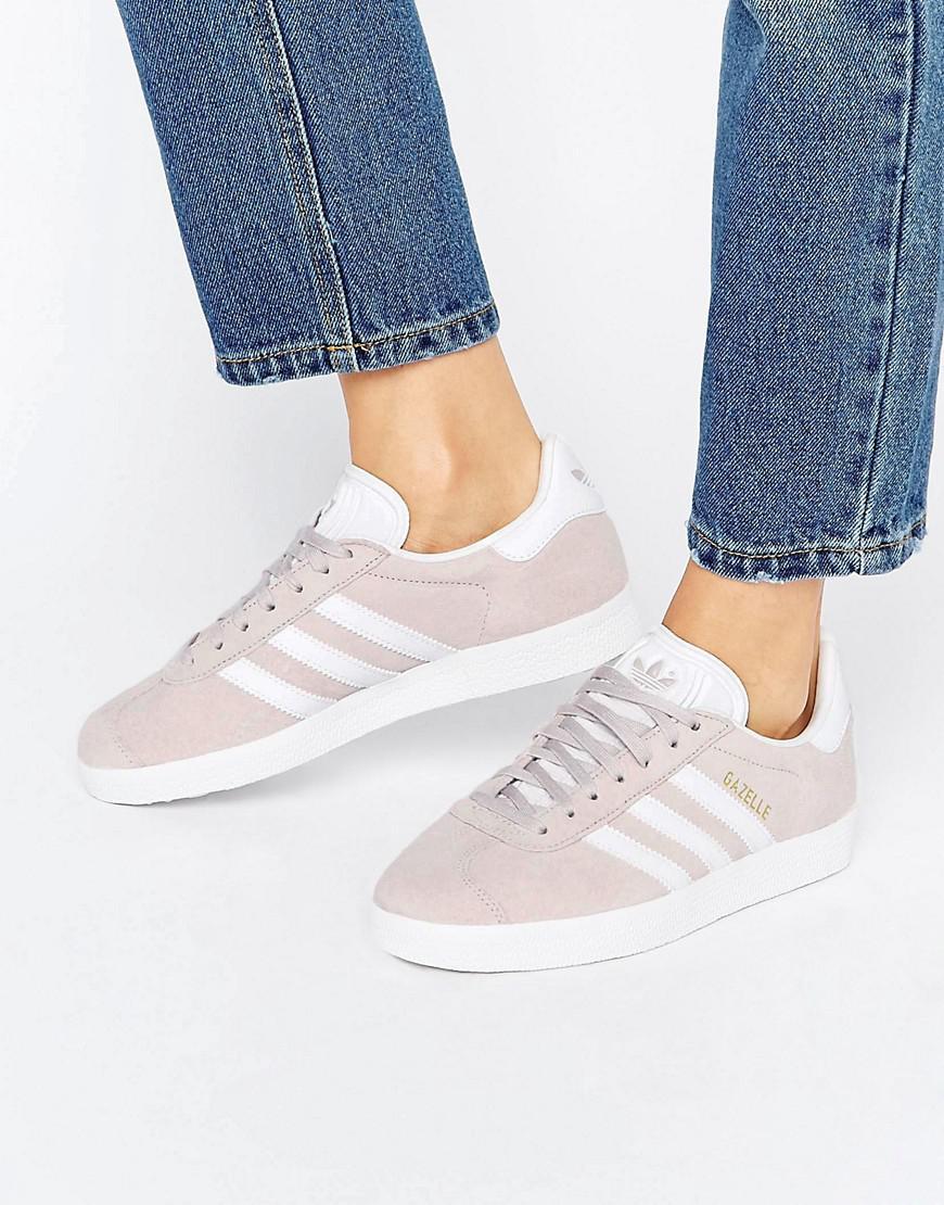 749b8b18d367 Gallery. Women s Adidas Gazelle Women s Chambray Sneakers ...
