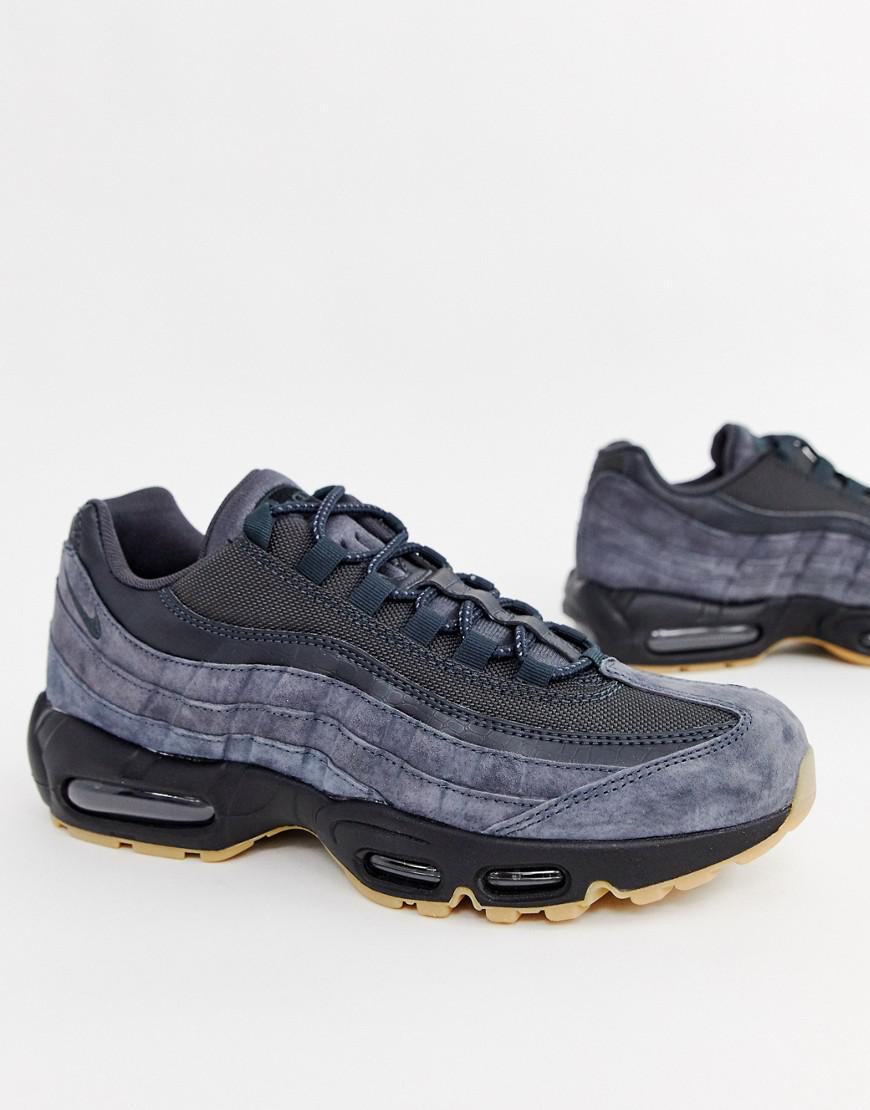06c52db1eaa Nike Air Max 95 Ultra Trainers In Grey Aj2018-002 in Gray for Men - Lyst