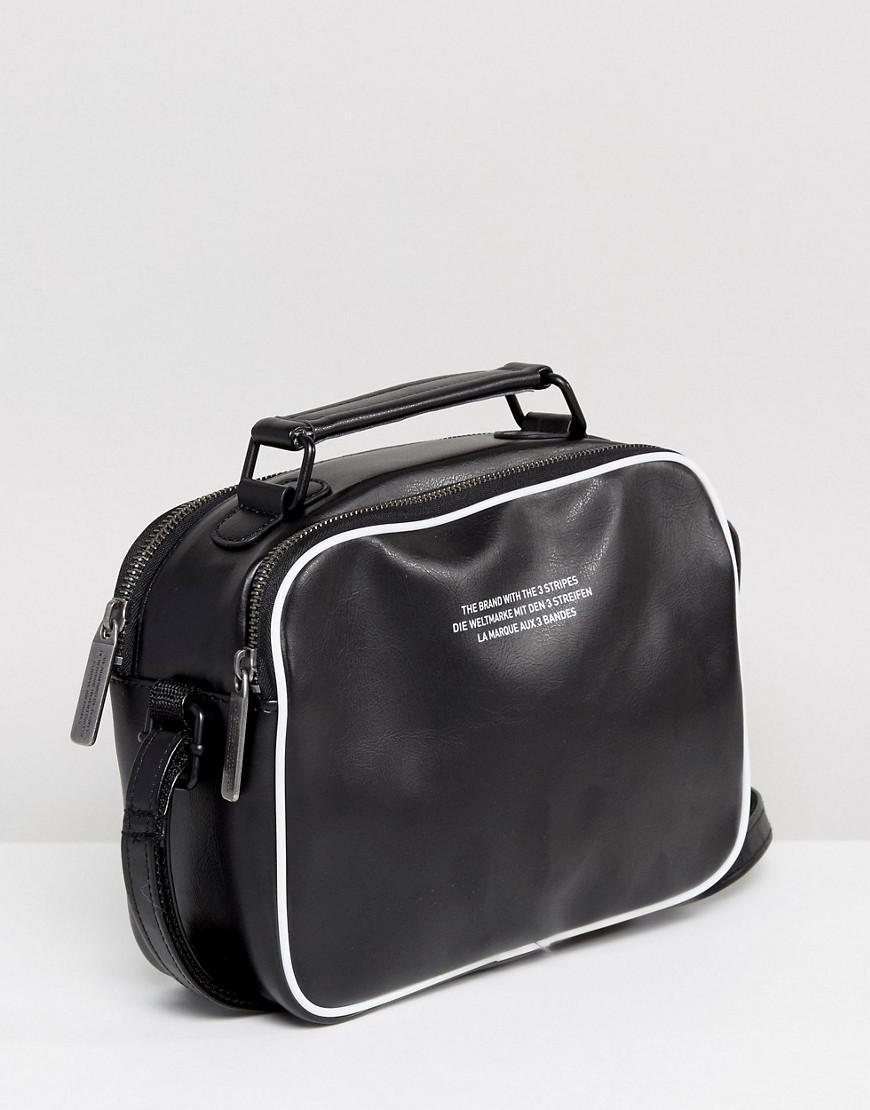 6ced584fe788 Lyst - adidas Originals Originals Vintage Mini Airliner Bag In Black ...