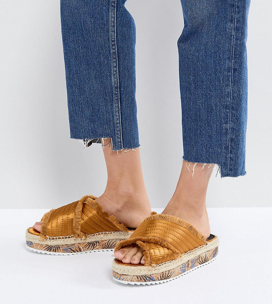 cheap sale 2014 new SixtySeven Adiva Mustard Flatform Espadrille Sandals buy cheap 2015 clearance prices aPM730JqL
