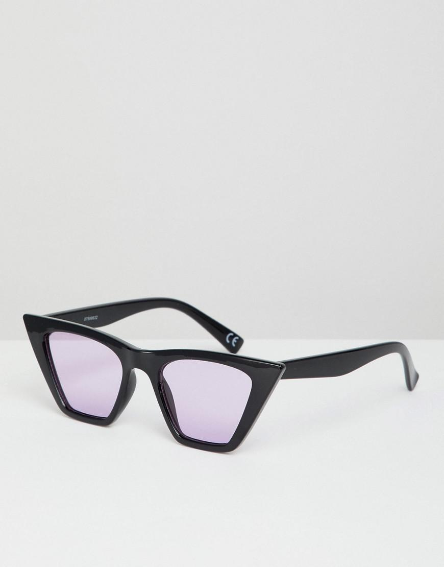 c43939f15 ASOS Cat Eye Sunglasses In Black With Lilac Lens in Purple for Men ...