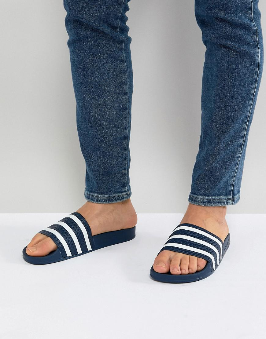1cd9c7e37 adidas Originals Sandals in Blue for Men - Save 46% - Lyst