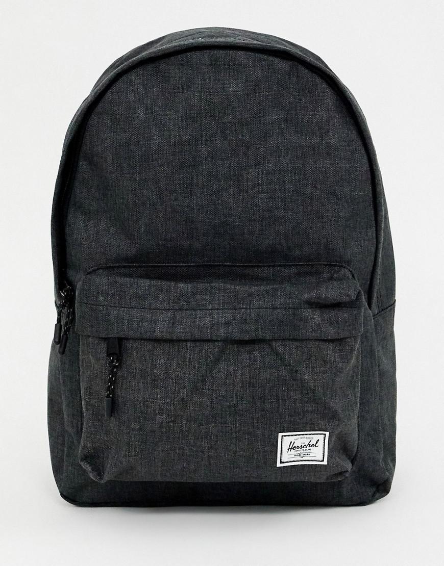 95578367493 Lyst - Herschel Supply Co. Classic 24l Crosshatch Backpack In Black ...