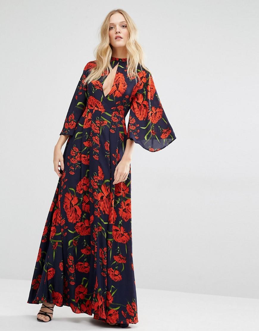 July 4 maxi dress