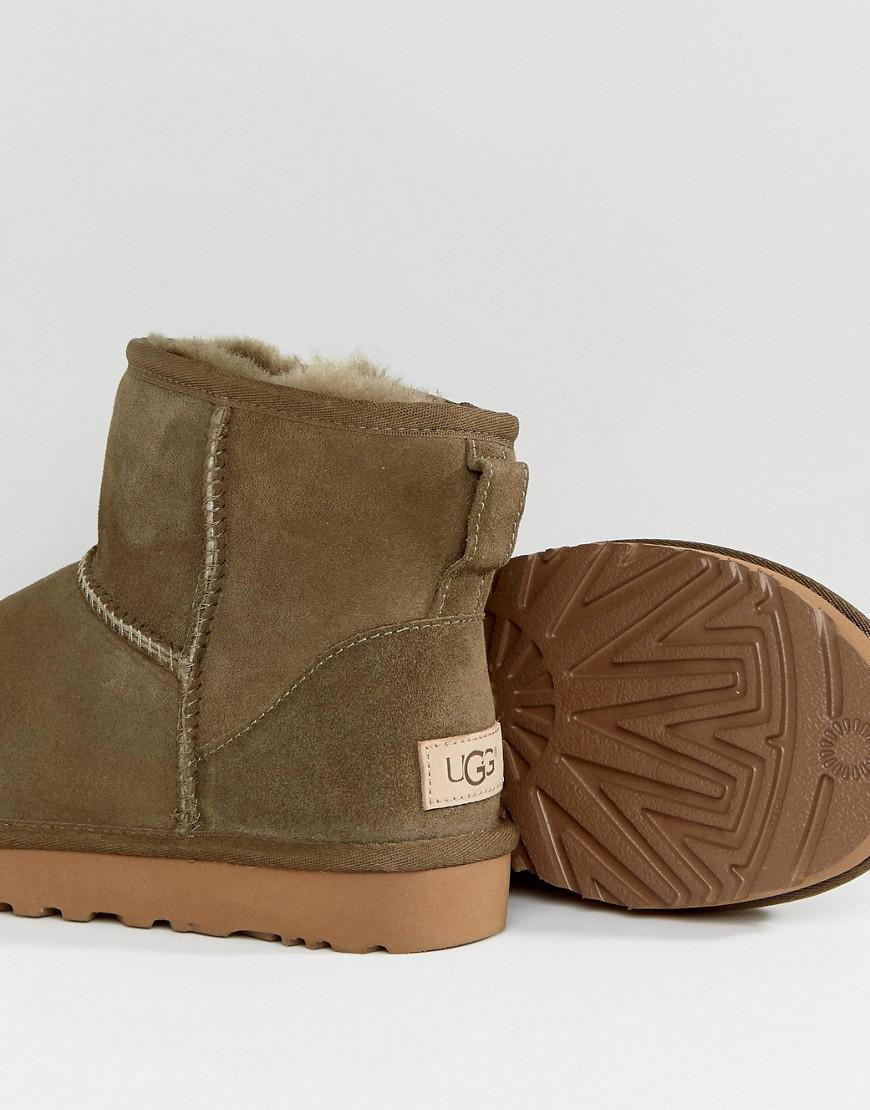 15044557f96 get ugg classic mini ii olive boots 71e6b b7b82
