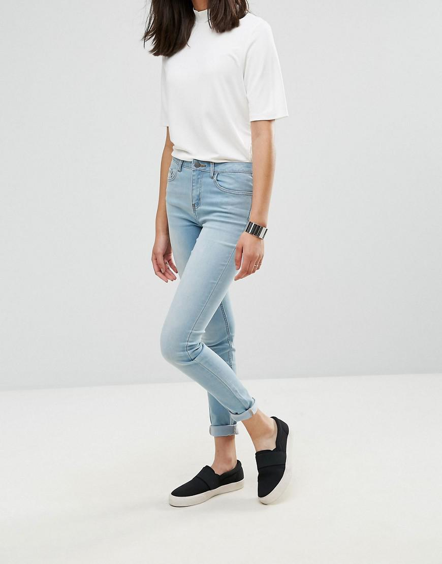 Five Betty Superstretch Skinny Jeans - Light blue Pieces iPpBfS