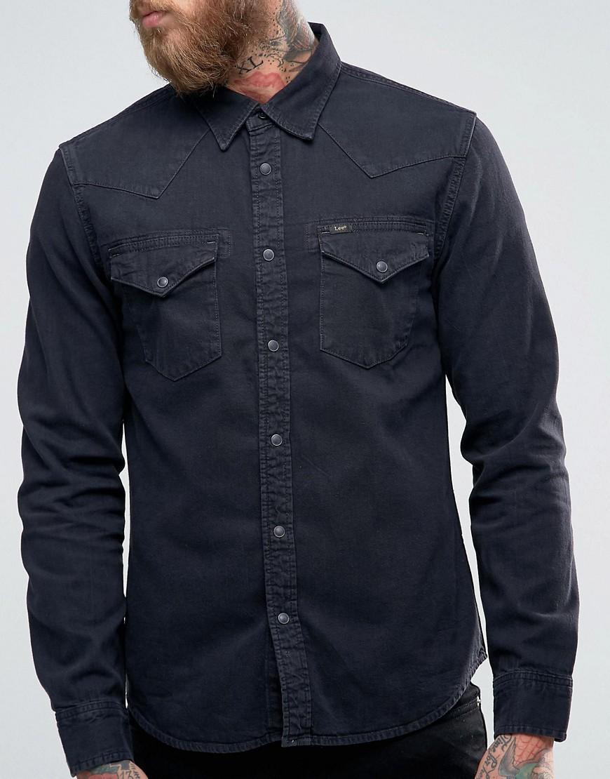 Lee Western Denim Shirt Slim Fit