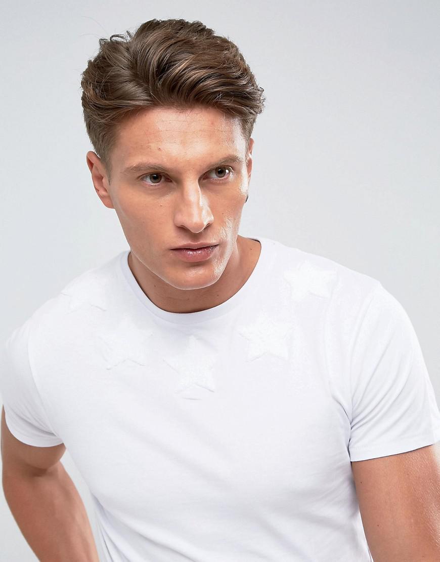 View Fashion Style For Sale Textured Dd Stars T-Shirt - White Threadbare Clearance Cheap Sale Original 2018 Unisex 9UnBfEuT5U