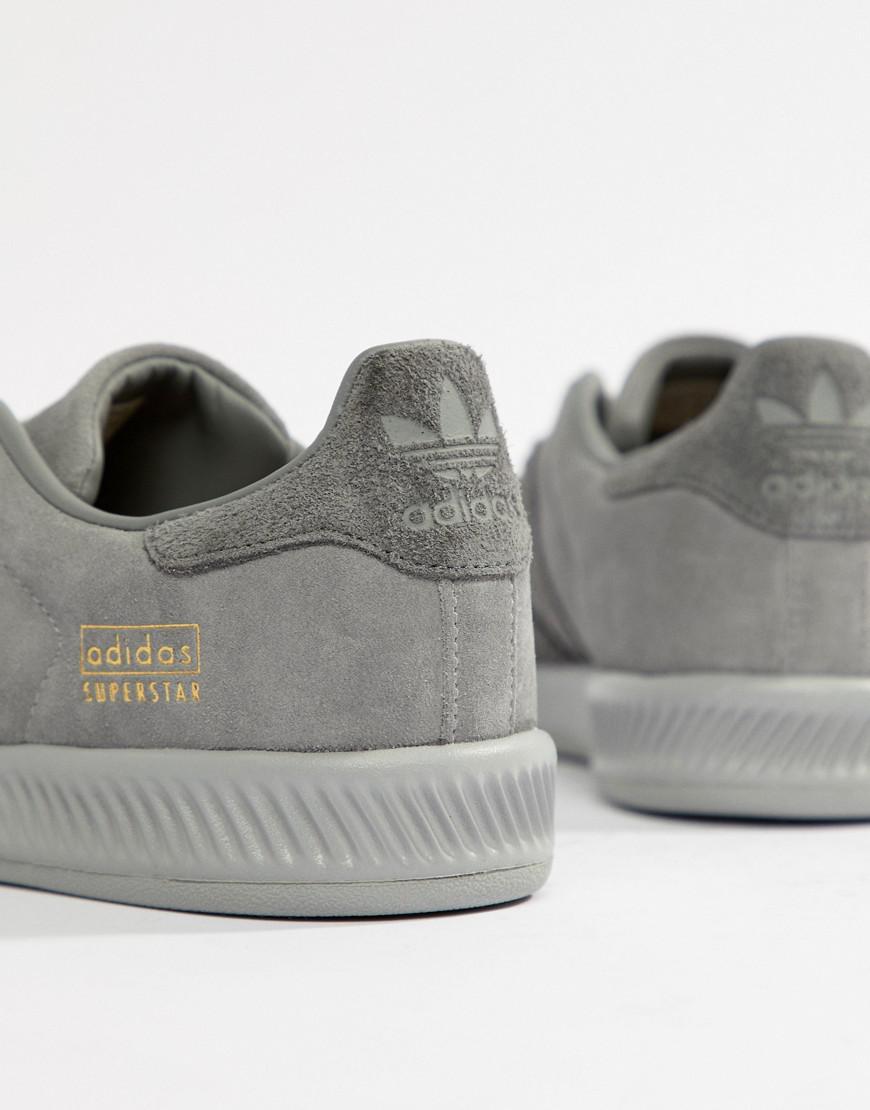 4c3445da0f60 Lyst - adidas Originals Superstar Bounce Sneakers in Gray for Men