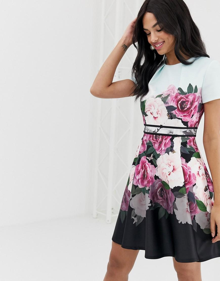 c0e83bf9d Ted Baker Magnificent Skater Dress - Save 20% - Lyst