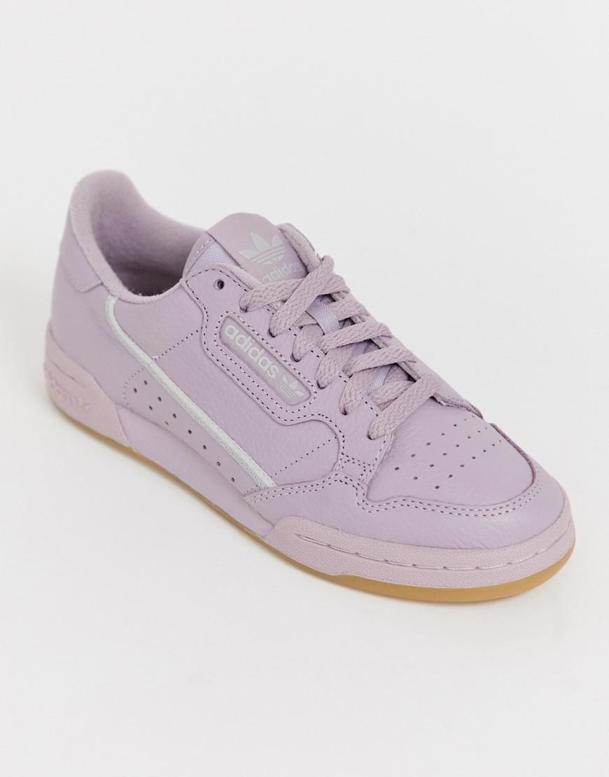 c4d909dd3d1 adidas Originals. Women s Mauve Continental 80 Sneakers