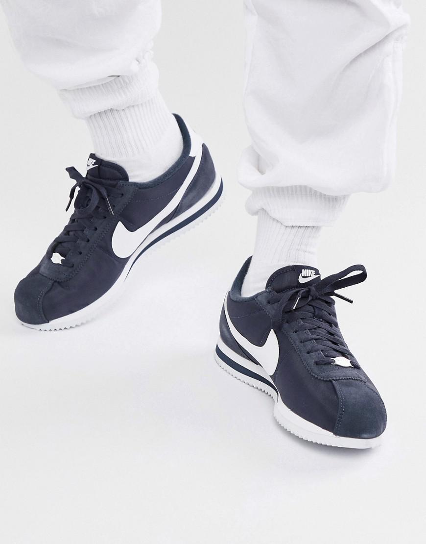 best loved a2329 2ee51 Nike Cortez Nylon Sneakers In Blue 819720-411 in Blue for Men - Lyst