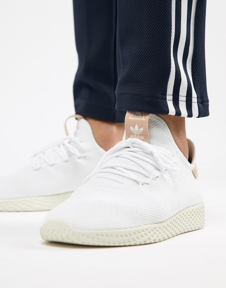 280186eff5e en Originals Pharrell blanco tenis Hu entrenadores Williams Adidas RCqBYPq