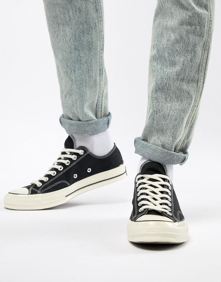 a583f83ffa5c43 Converse Chuck Taylor All Star  70 Ox Trainers In Black 162058c in ...