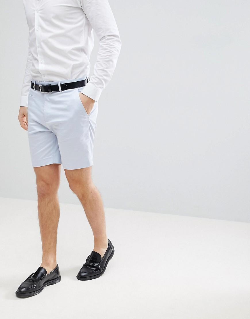 afed5df41e Lyst - Pantalones cortos de vestir de largo medio y corte slim en ...