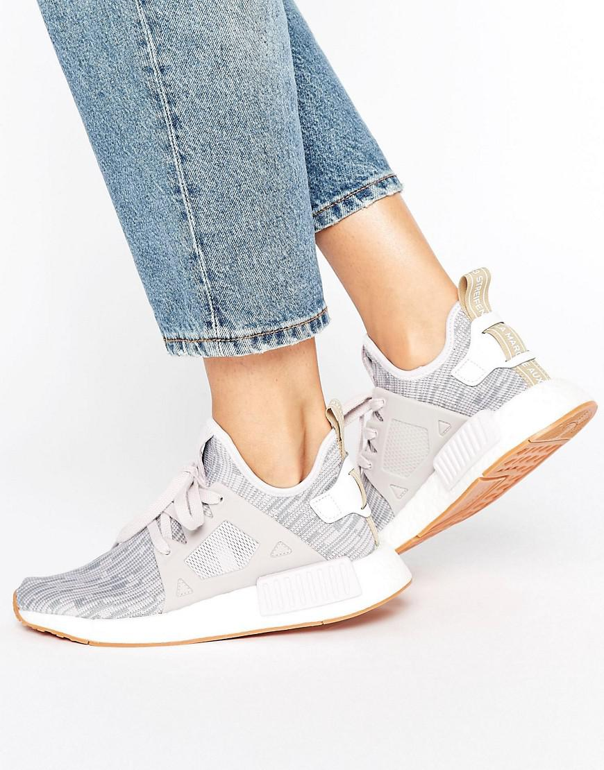 537d89f31 adidas nmd white pink adidas nmd xr1 primeknit ice purple Equipped ...