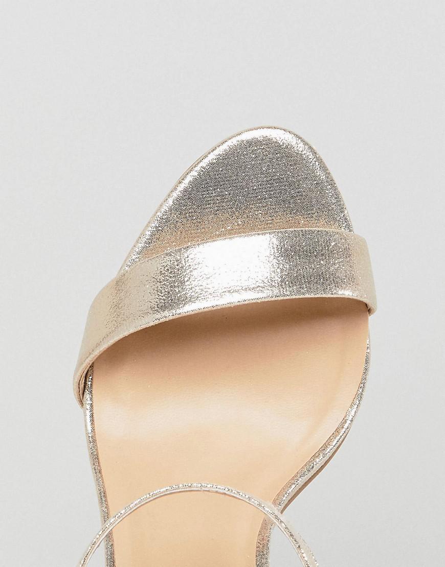 timeless design f3cd1 851cb new-look-Gold-Shimmer-2-part-Low-Heel-Sandal.jpeg