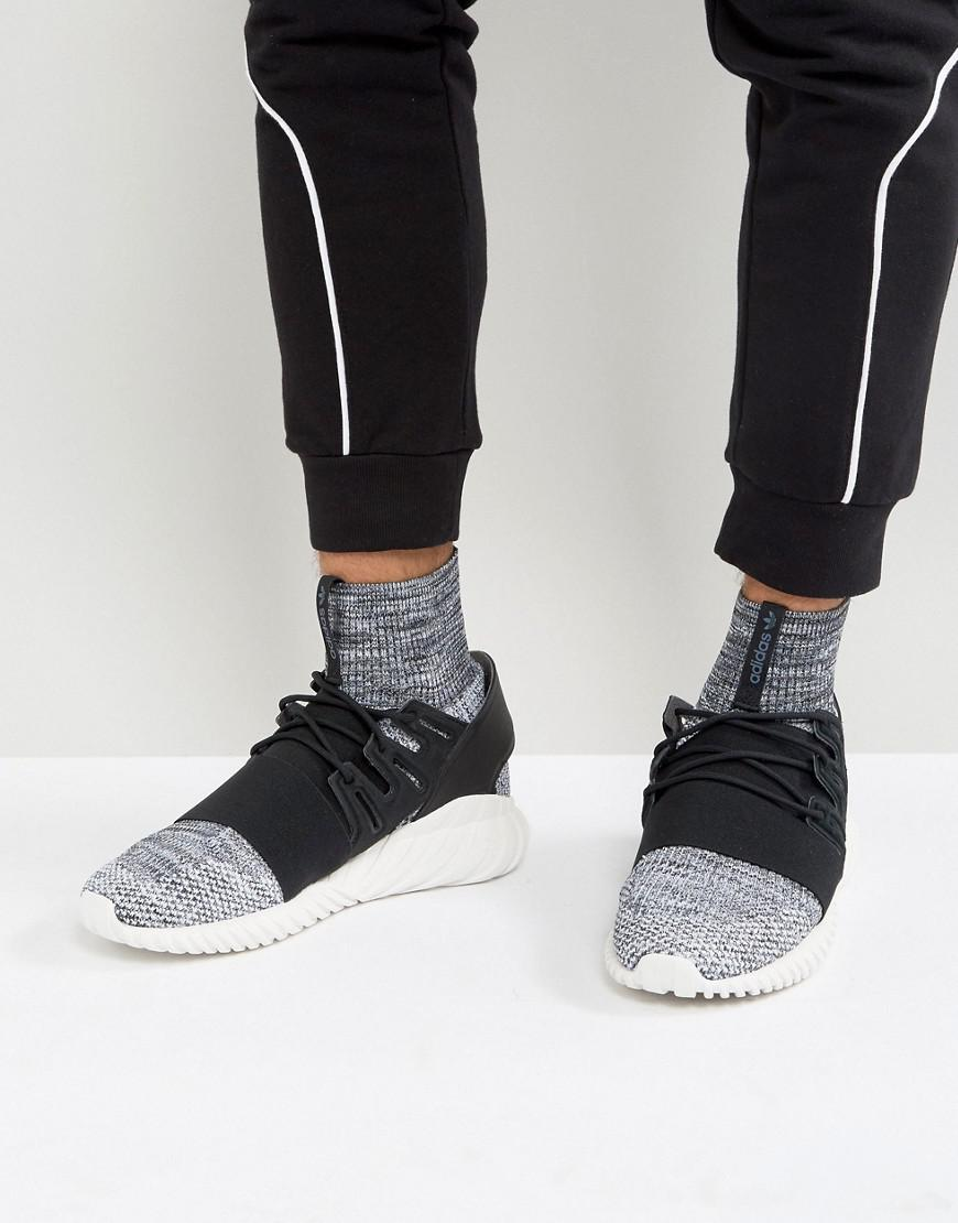 d109d01e3a9 adidas Originals Tubular Doom Primeknit Sneakers In Gray By3550 in ...