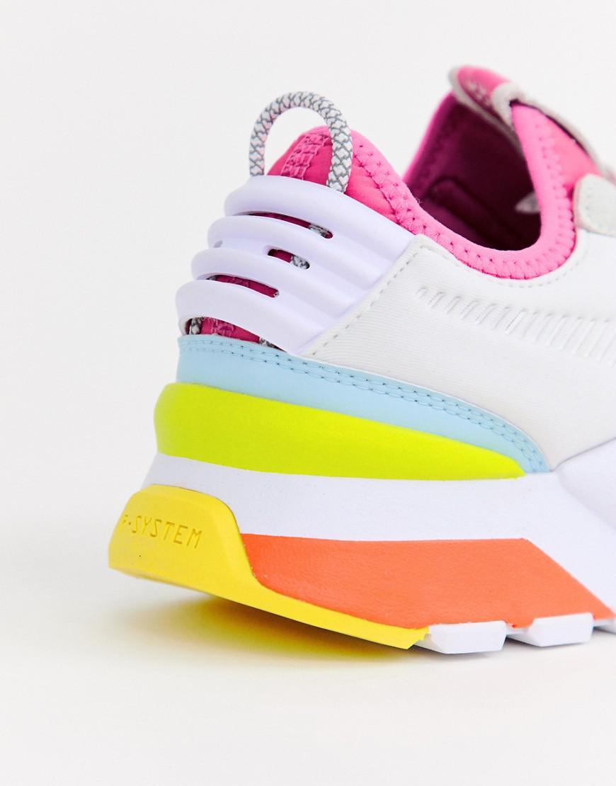 size 40 66f8f 5550e Lyst - PUMA Rs-0 Winter Toys White Sneakers in White puma rs 0 winter