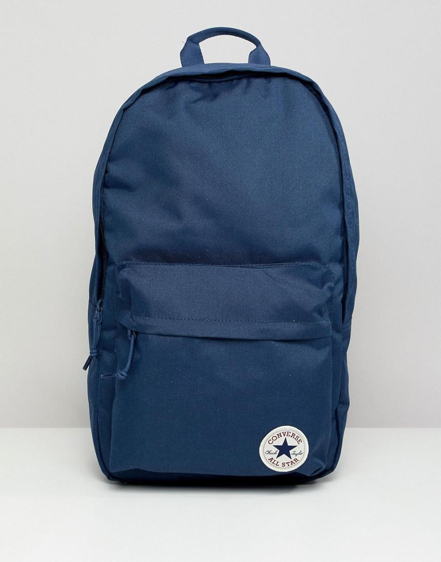 8bbeb3cfe298 Converse Backpack In Navy 10003329-a02 in Blue for Men - Lyst