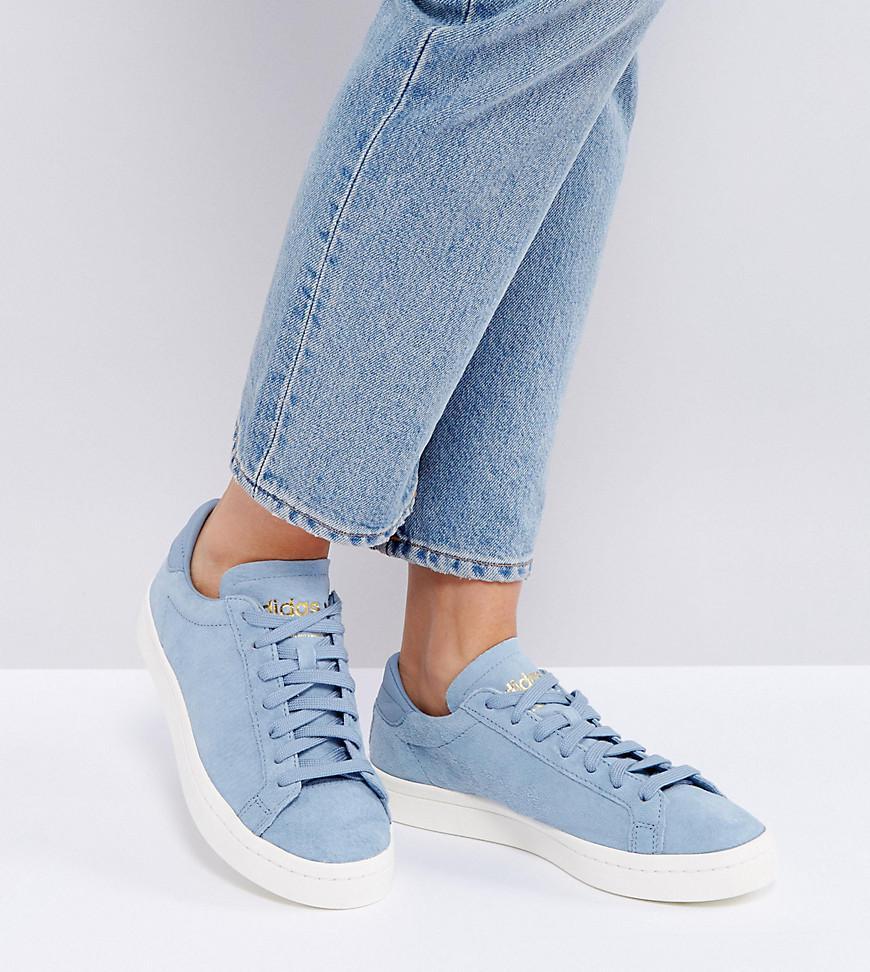 lyst adidas originali originali corte vantage scarpe a pale