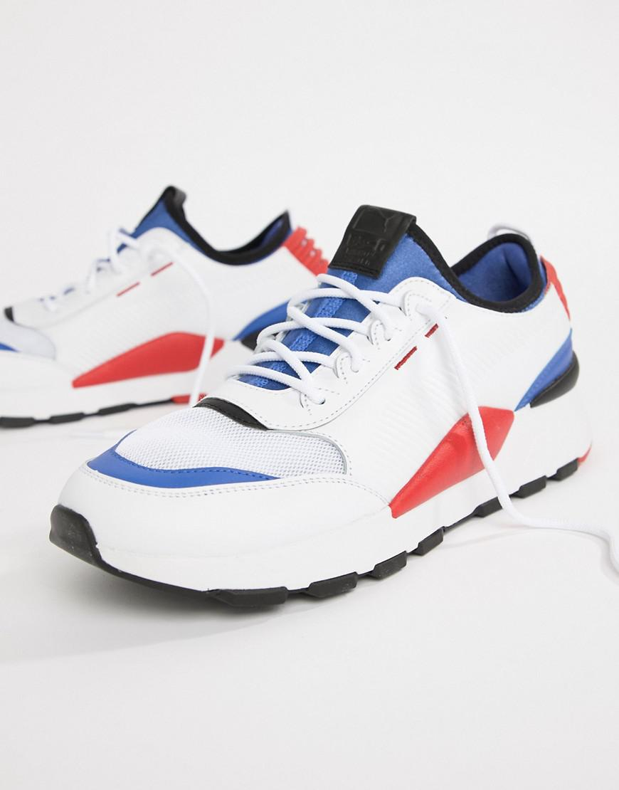 size 40 7b48d 04632 PUMA. Baskets RS-0 blanches 36689001 homme