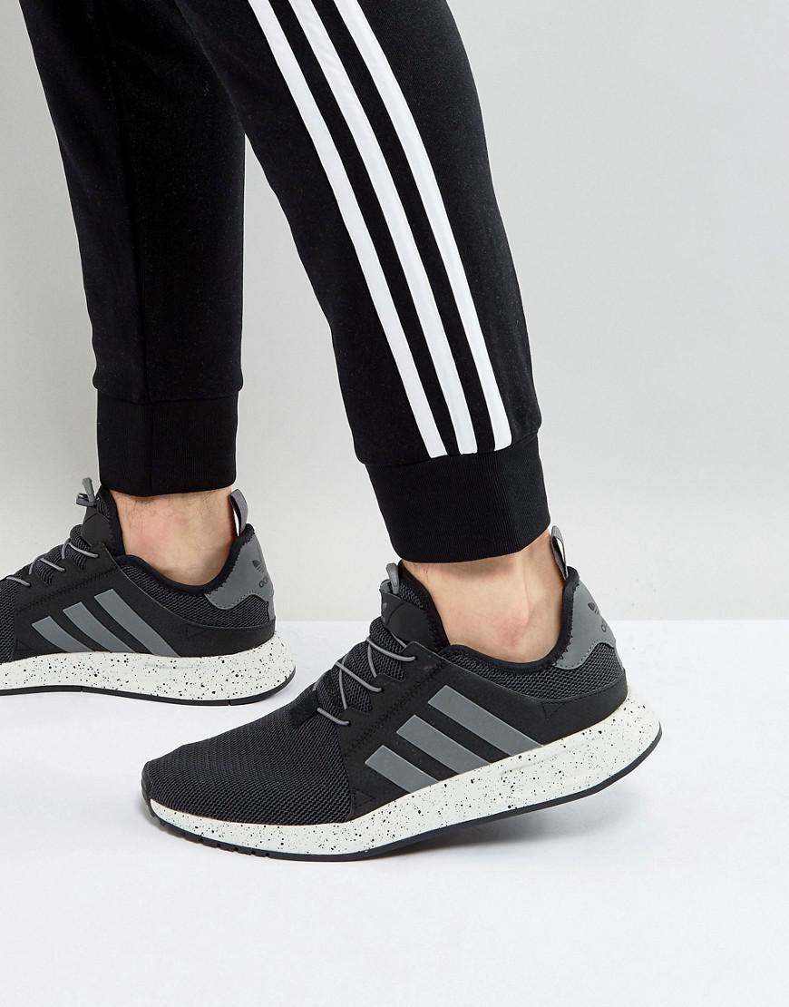 lyst adidas originali x a infrarossi scarpe in nero by9254 in nero per gli uomini.