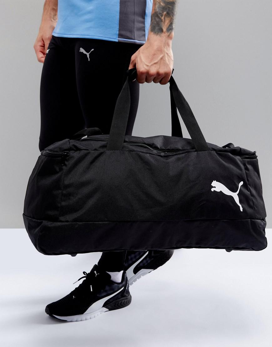 4232e6fe56af PUMA Pro Training 2 Medium Bag In Black 07489201 in Black for Men - Lyst