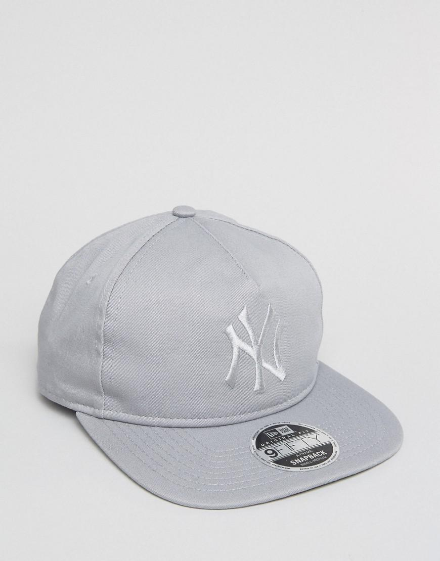 261e4fb7c5d Lyst - Ktz 9fifty Snapback Cap Unstructured Ny Yankees in Gray for Men