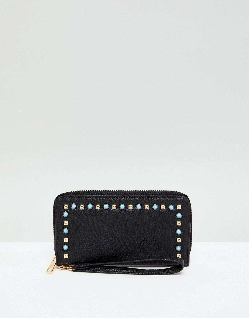 Camera Bag with Pearl Embellishment - Black Yoki Fashion 419FjYn42P