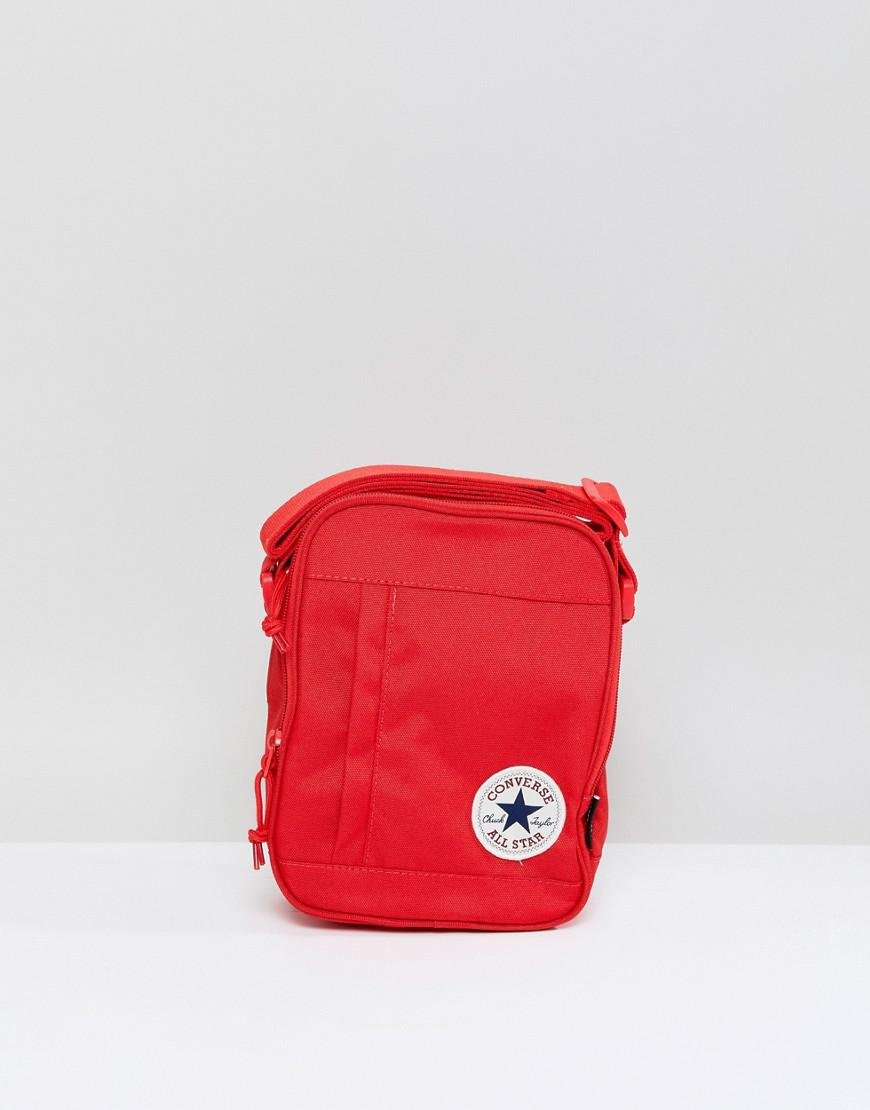 0ac9e24dbd1 Lyst Converse Chuck Taylor Patch Crossbody Bag In Red For Men