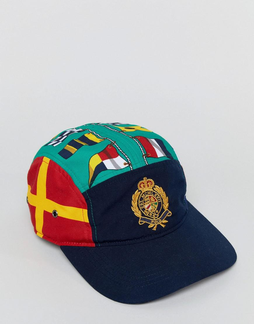 a5cd68a670c Polo Ralph Lauren Cp-93 Capsule Limited Edition Crest Flags Print 5 ...
