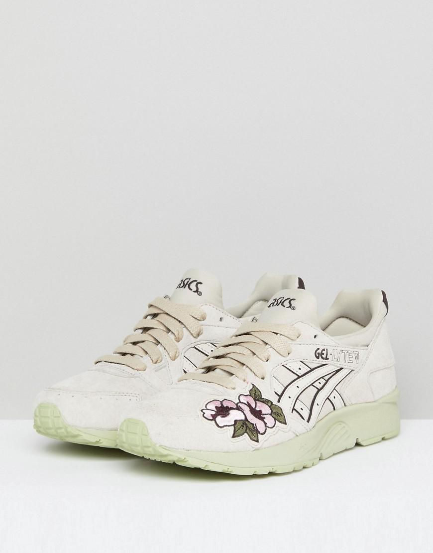 Asics Ascs Gel-Lyte V Embroidered Sneakers With COLORED Sole