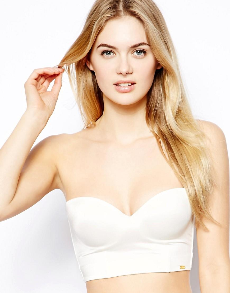 Lyst - Ultimo Miracle Low Back Strapless Bra in Natural 361dd8e27