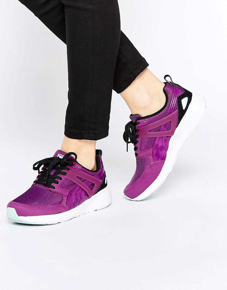 3e91660c6b3d Lyst - Puma Aril Sneakers in Purple