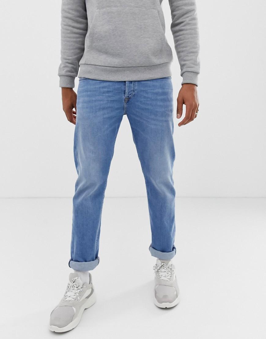 da62af36 Lyst - Diesel Buster Regular Slim Fit Jeans In 087aq Light Wash in ...