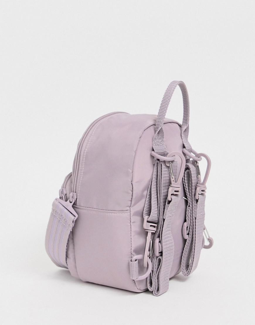 9ac58e5af77 Lyst - adidas Originals Sleek Mini Backpack In Purple in Purple