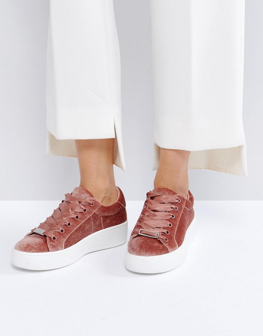 262d7fe1fb0e Gallery. Women s Steve Madden Byranne Women s Fuchsia Sneakers ...