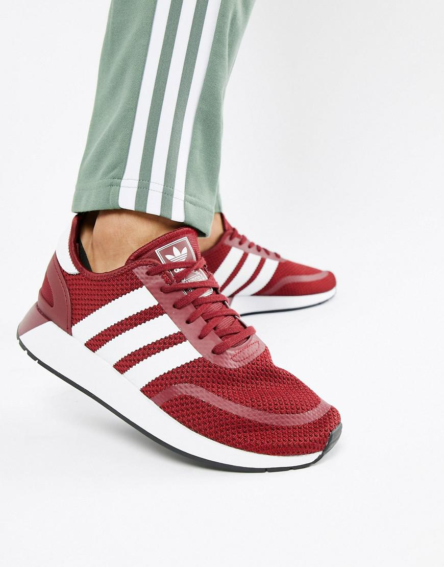 af942cc7414e48 Lyst - adidas Originals N-5923 Trainers In Red B37958 in Red for Men