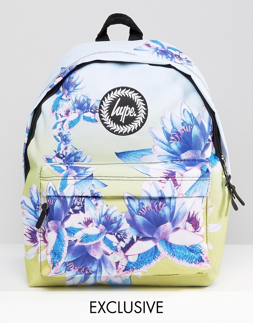 Hype Exclusive All Over Floral Backpack | Lyst