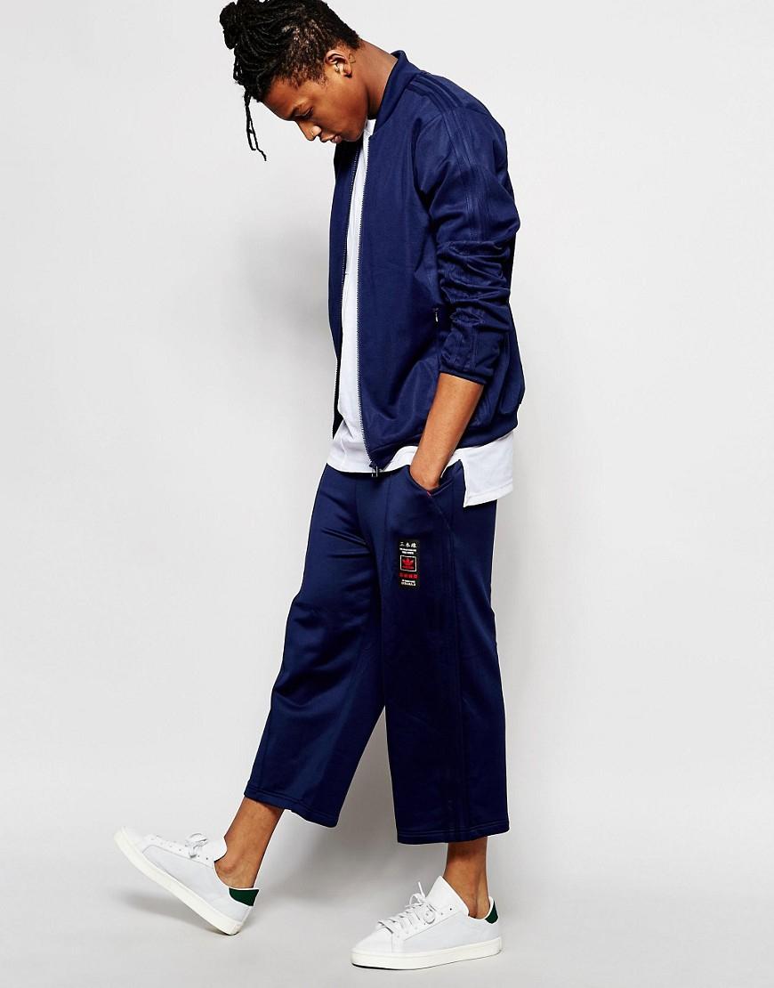 Adidas Originals Budo Superstar Track Top Az6365 In Blue