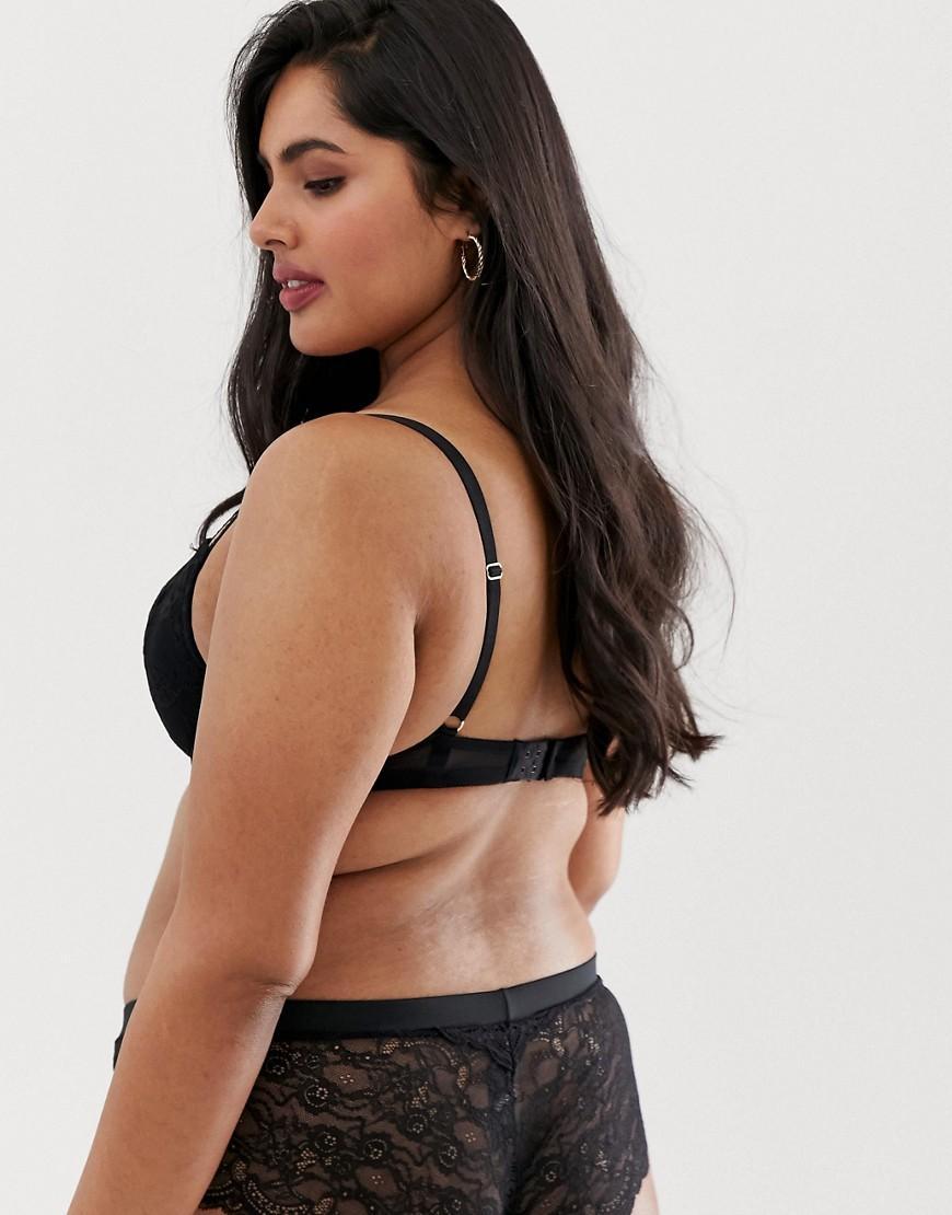 16bb581eb3b Lyst - Ann Summers Sexy Curve Lace Plunge Bra In Black in Black