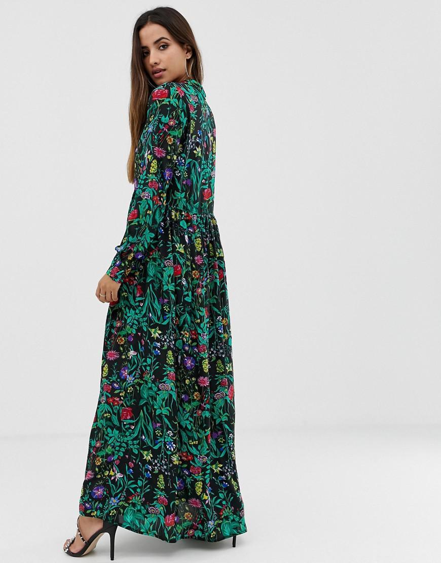 744a7f73d5 Pretty Little Thing Sequin Maxi Dress | Saddha