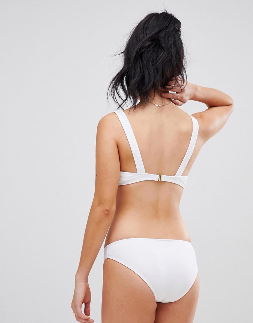 9972ea2592 Lyst - Champion Logo Bikini Bottom In White in White