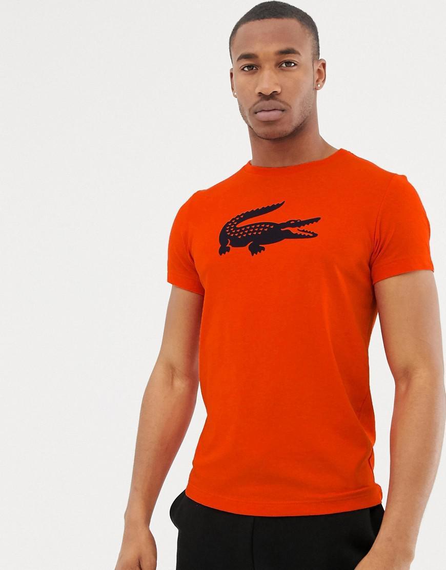 5815ecf7561 Lyst - T-shirt avec grand logo crocodile Lacoste Sport pour homme en ...